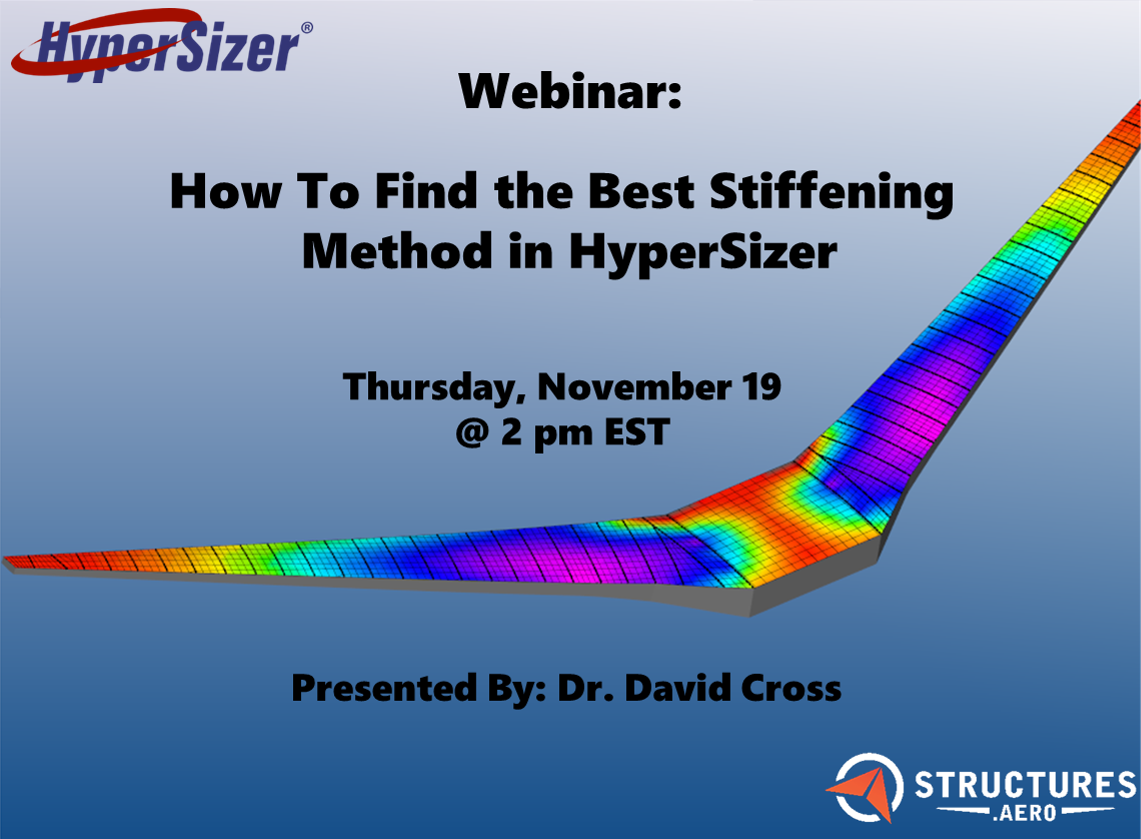 Hypersizer stiffening method
