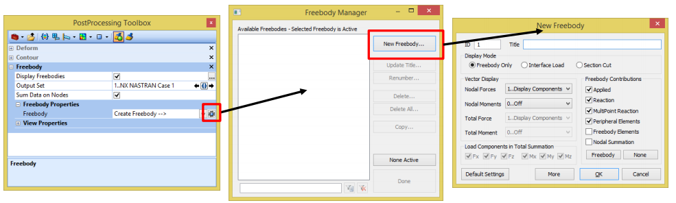 10 creating a new freebody