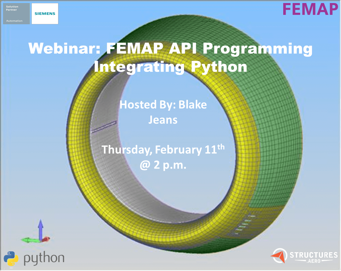 Femap API | How to use API in Femap Tutorial | Python